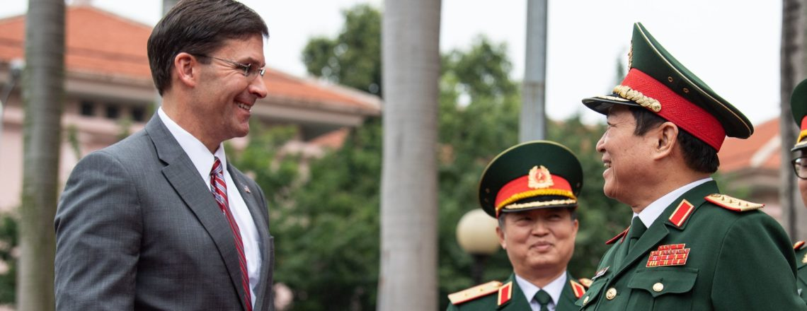 U.S. Secretary of Defense Mark Esper Visits Vietnam