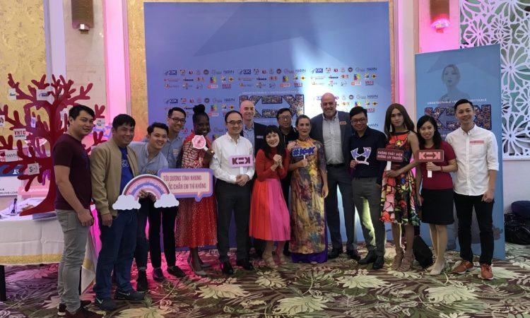 Các Tổ chức cộng đồng lan tỏa thông điệp phòng chống K=K HIV tại Việt Nam
