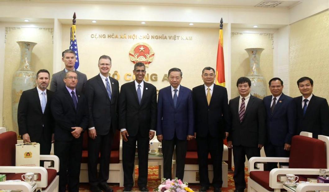 U.S. Drug Enforcement Administration Acting Administrator Uttam Dhillon visits Vietnam and highlights U.S. cooperation with Vietnamese Police