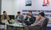 USDA – Benjamin Petlock, Senior Agricultural Attaché - U.S. Embassy shares insights with Vietnamese policy makers and extension officers at the event.
