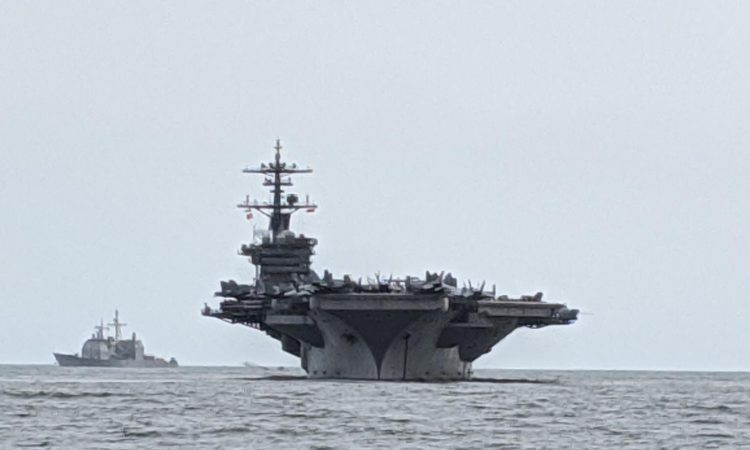 Theodore Roosevelt Strike Group Arrives in Vietnam to Commemorate 25 Years of Diplomatic Relations