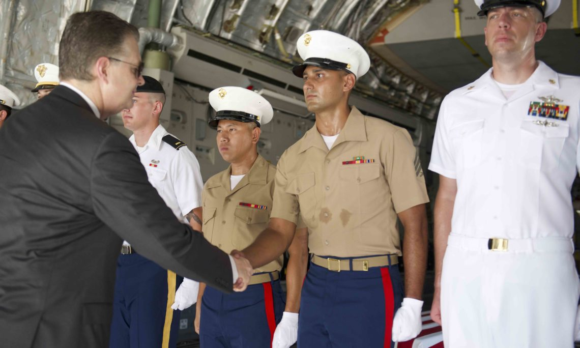 The United States Holds 150th Repatriation Ceremony in Vietnam