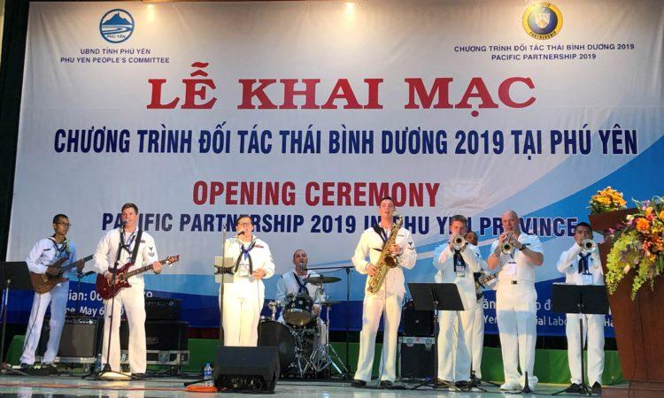 Chương trình Đối tác Thái Bình Dương 2019 khai mạc tại Tuy Hòa
