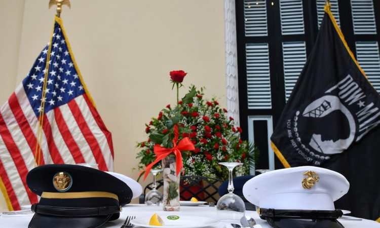 U.S. Embassy Community Commemorates POW/MIA Recognition Day