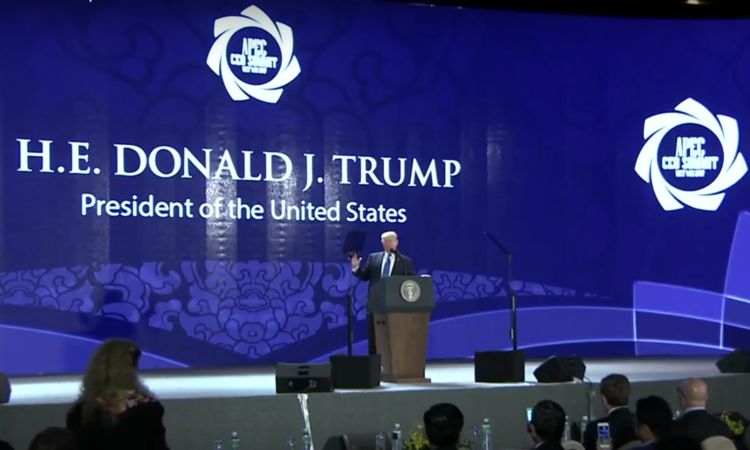 President Trump Delivers Remarks to the APEC CEO Summit