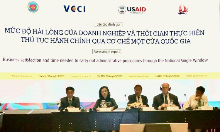 Hoa Kỳ hỗ trợ Việt Nam cải thiện mức độ hài lòng của doanh nghiệp khi thực hiện các thủ tục hải quan qua cơ chế Một cửa Quốc gia