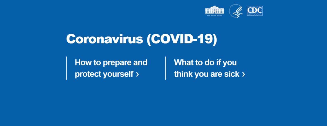 White House and CDC's resources on COVID-19