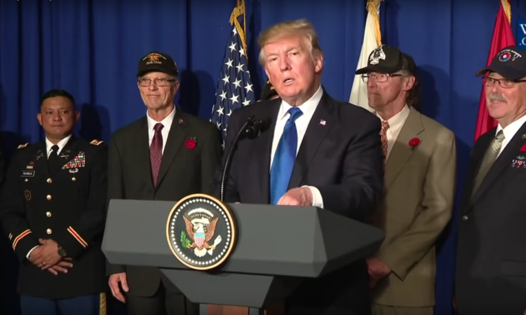 Phát biểu của Tổng thống Donald Trump tại buổi gặp mặt các Cựu binh Chiến tranh Việt Nam