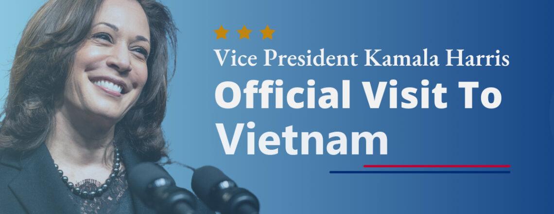 Vice President Kamala Harris's Trip to Singapore and Vietnam
