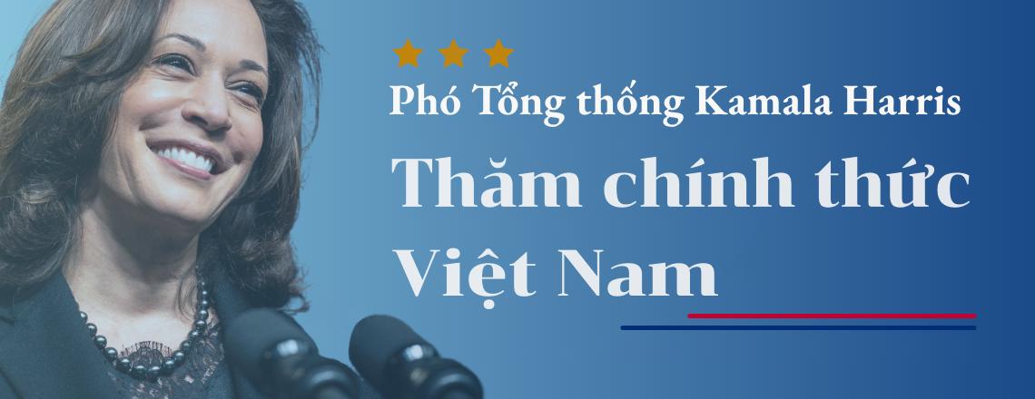 Phó Tổng thống Kamala Harris thăm Singapore và Việt Nam