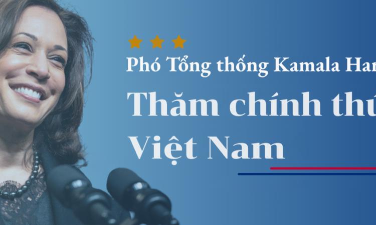 Phó Tổng thống Kamala Harris sẽ có chuyến công du đến Singapore và Việt Nam