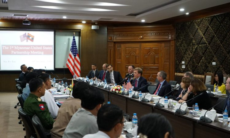 First U.S. - Myanmar Partnership Meeting
