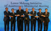U.S. Secretary of State Michael R. Pompeo participates in a Lower Mekong Initiative Ministerial Meeting