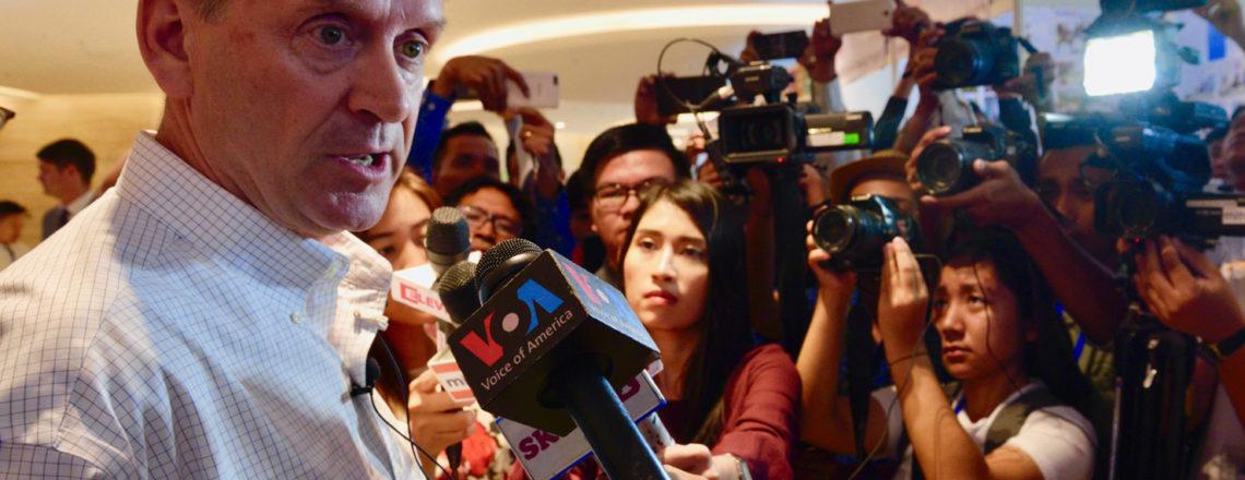 USAID Administrator Mark Green Visits Myanmar