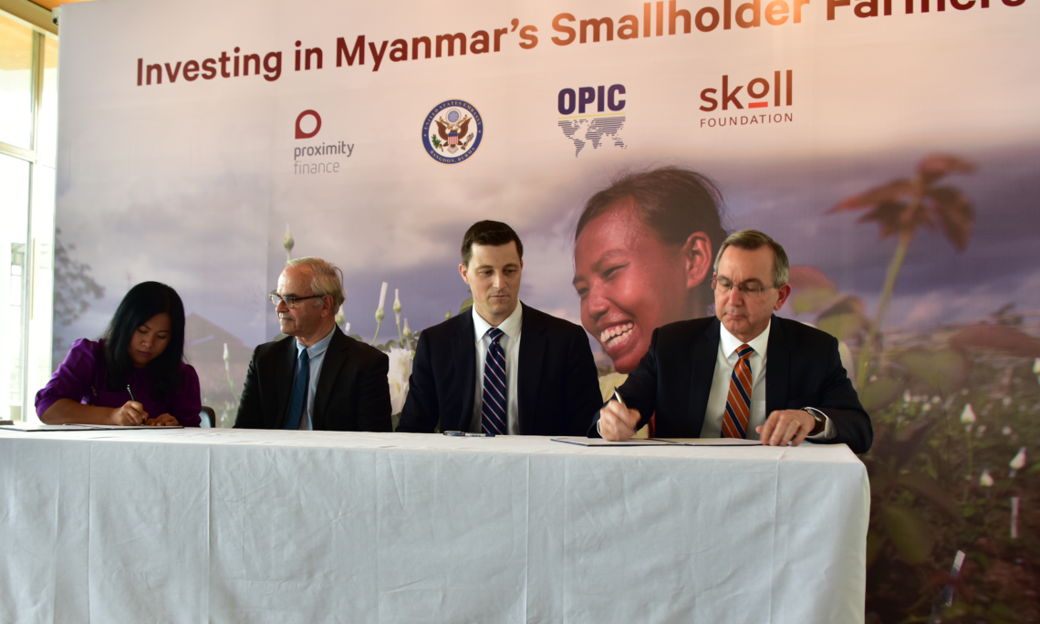 OPIC SIGNS COMMITMENT TO SUPPORT MICROLOANS FOR RURAL