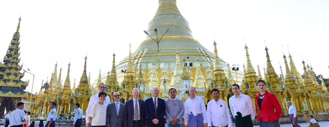 Assistant Secretary David R. Stilwell Visits Myanmar