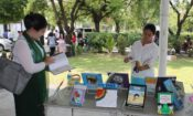 The Asia Foundation Book Donation Event at the Jefferson Center Mandalay