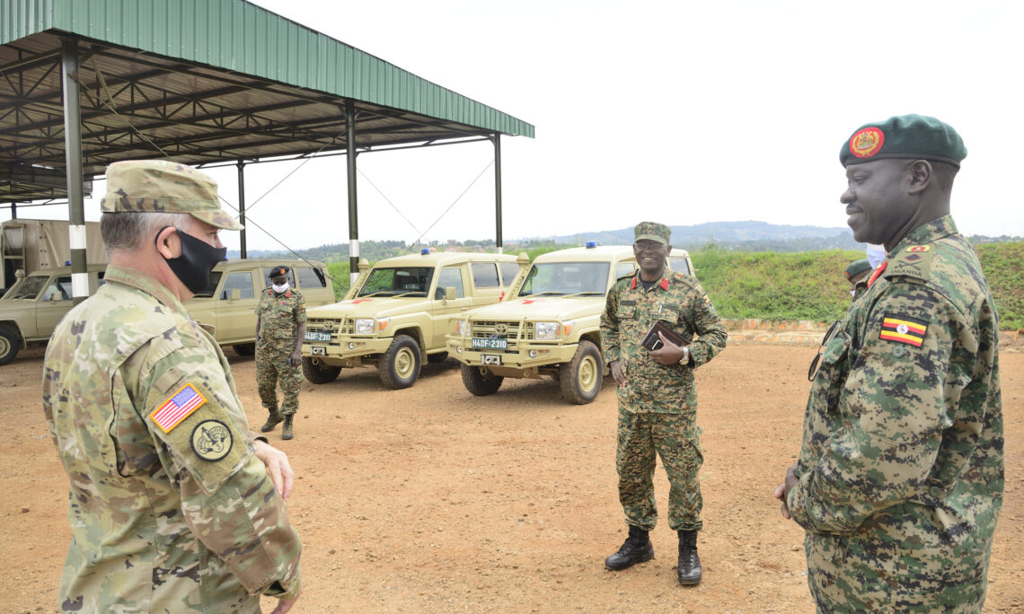 handover of Toyota Landcruiser Ambulances to the URDCC in Jinja