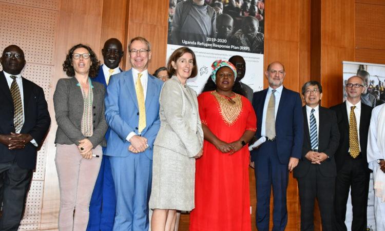 Launch of the 2019-2020 Uganda Refugee Response Plan