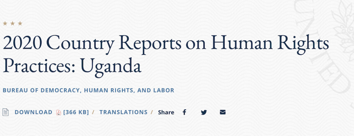 2020 Country Reports on Human Rights Practices | Uganda