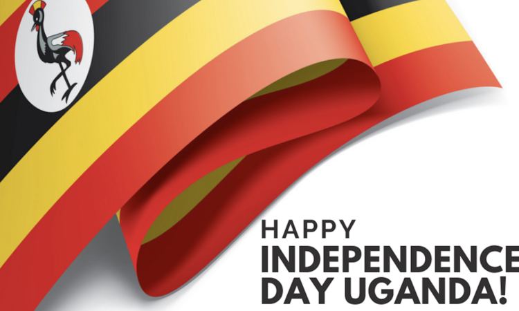 independence day Uganda graphic