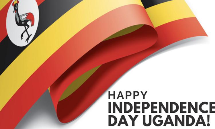 independence day Uganda graphic