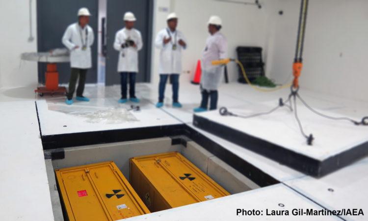 Photo: Laura Gil-Martinez, IAEA