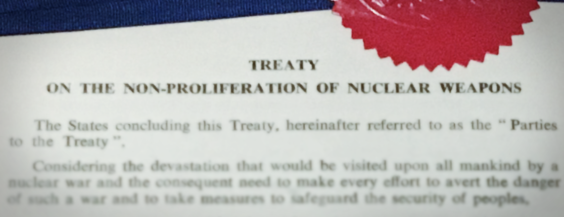 2019 Preparatory Committee for the 2020 Nuclear Non-Proliferation Treaty Review Conference