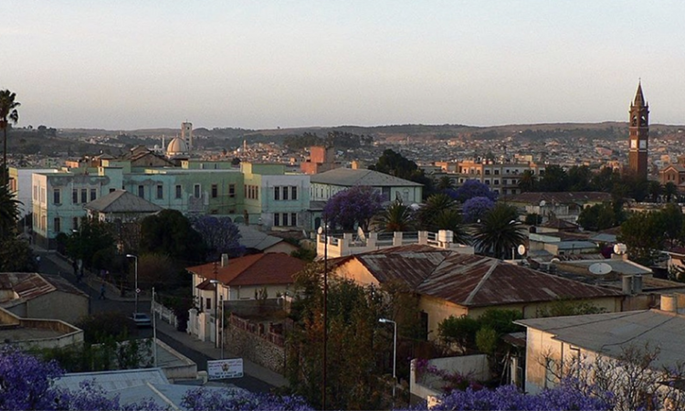 Asmara, Eritrea. (Creative Commons)