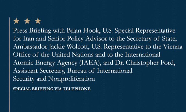 SPECIAL BRIEFING VIA TELEPHONE