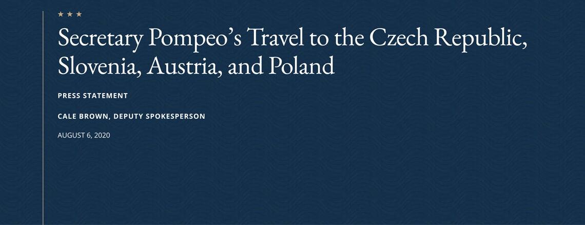 Secretary of State Michael R. Pompeo Travels to Vienna, Austria