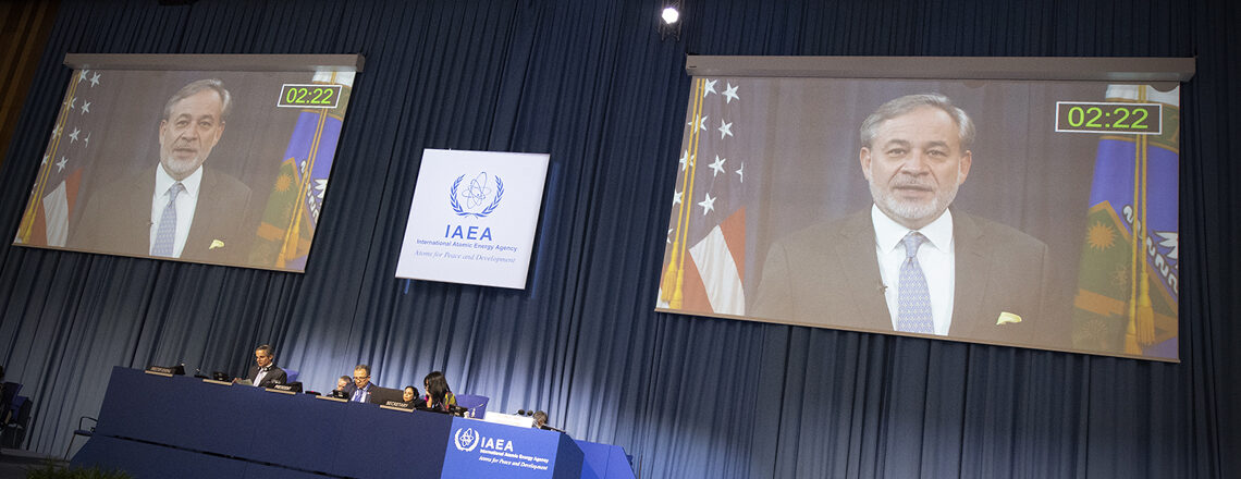 U.S. National Statement at the 2020 IAEA General Conference