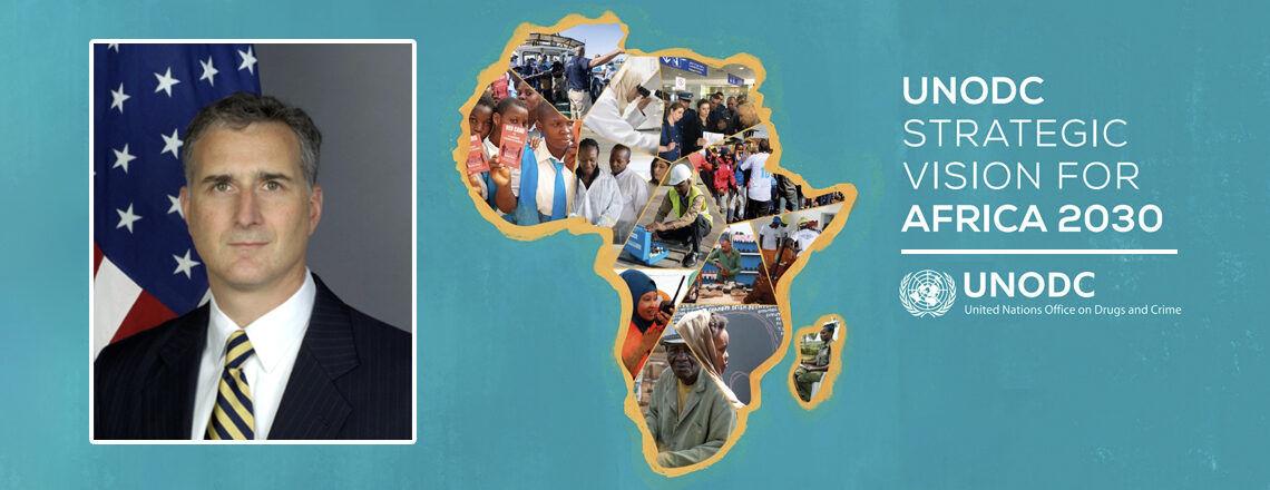 Chargé Bono's Remarks at UNODC's Strategic Vision for Africa 2030 Event