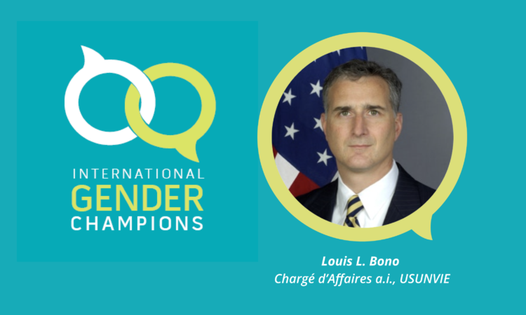 CDA Bono becomes an International Gender Champion