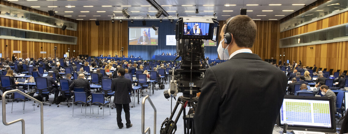 United States at the 2021 IAEA General Conference