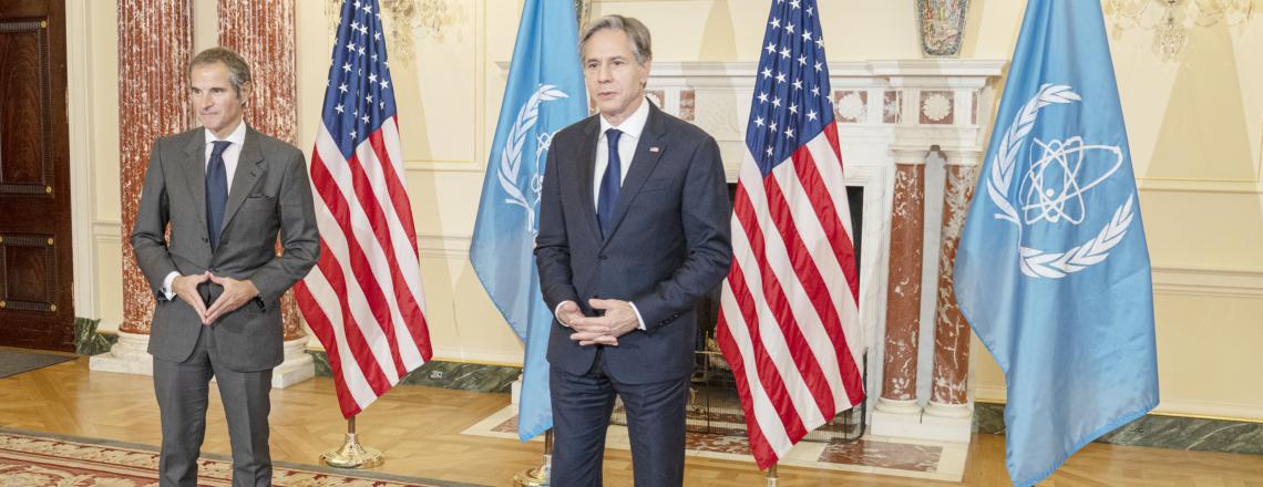 Secretary Blinken's Meeting with IAEA Director General Grossi