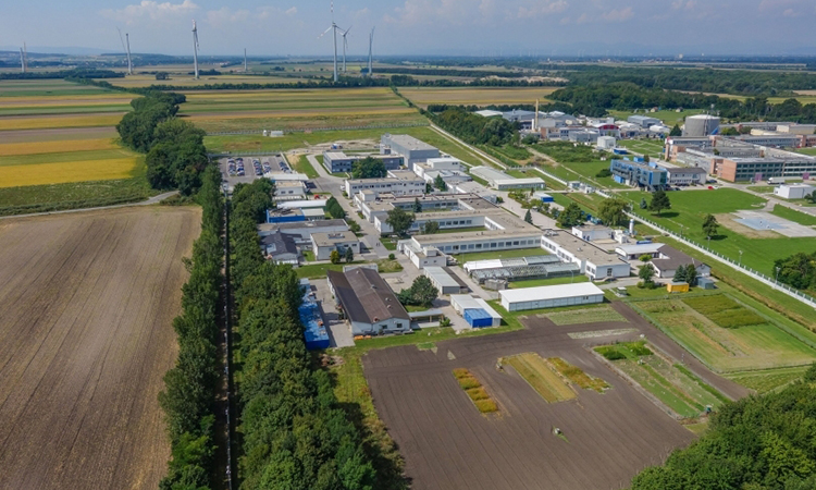 Aerial view of Seibersdorf laboratories.