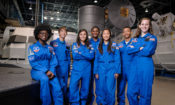 Space Camp student group posing