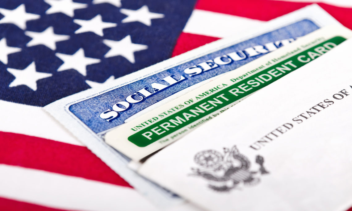 image featuring a permanent residence permit
