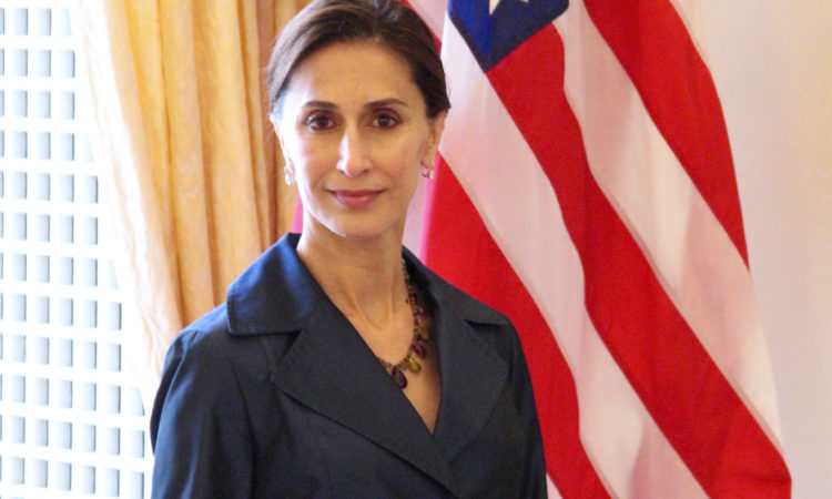 Image of Ms. Azita Raji, U.S. ambassador to Sweden