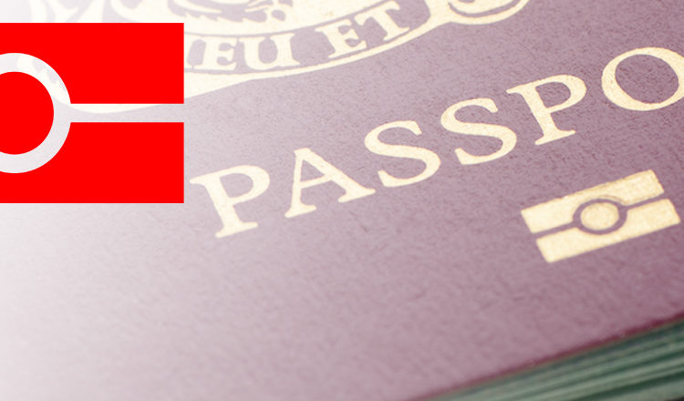 image of a so-called e-passport