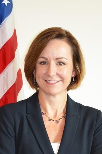 Photo of Chargé d'Affaires Pamela M. Tremont