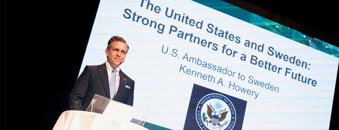 Ambassador Howery visits Gothenburg