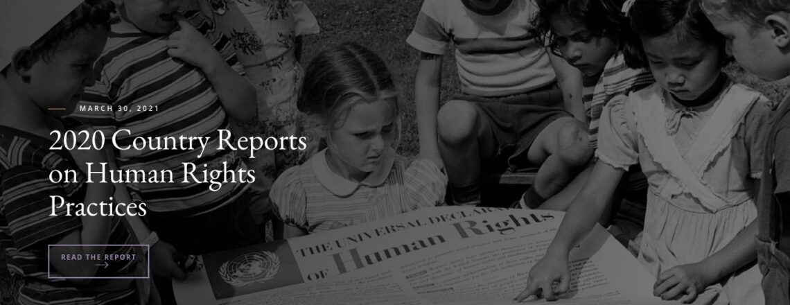 Release of the 2020 Country Reports on Human Rights Practices