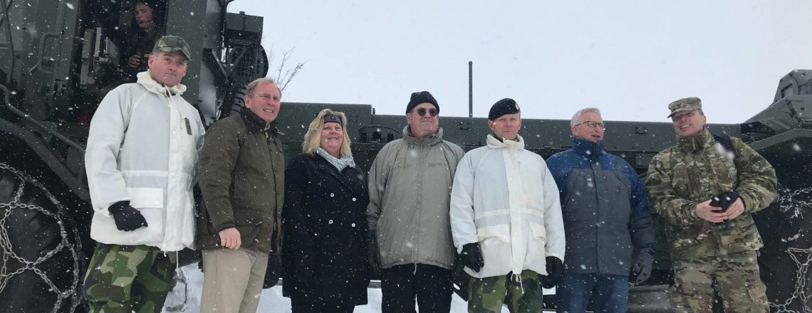 Visiting the Northern Wind military exercise