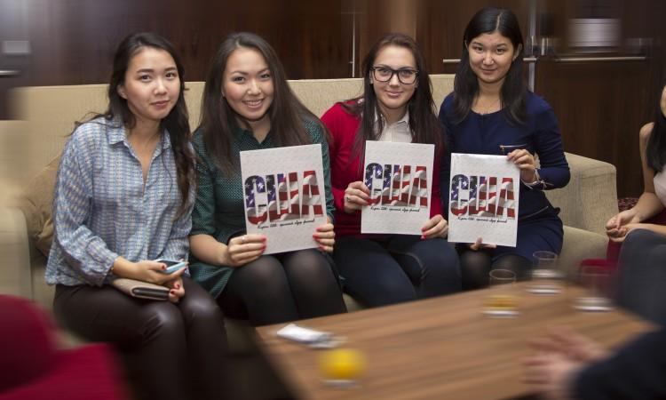 Kazakhstani Alumni hold magazines