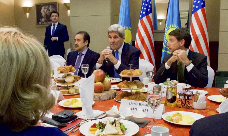 Secretary Kerry in Kazakhstan