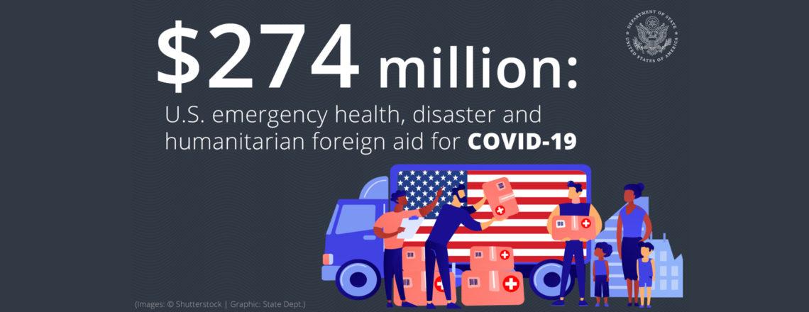 Помощь США за рубежом в ответ на пандемию COVID-19