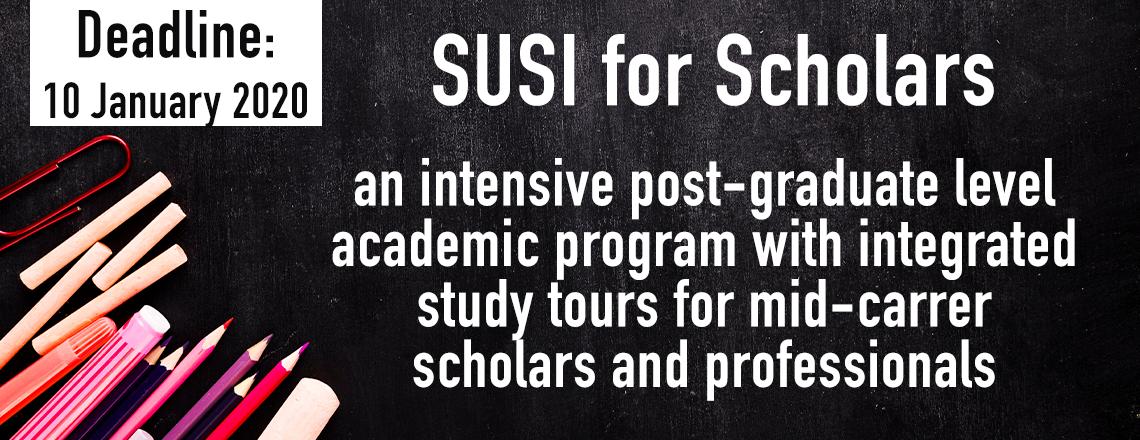 SUSI For Scholars