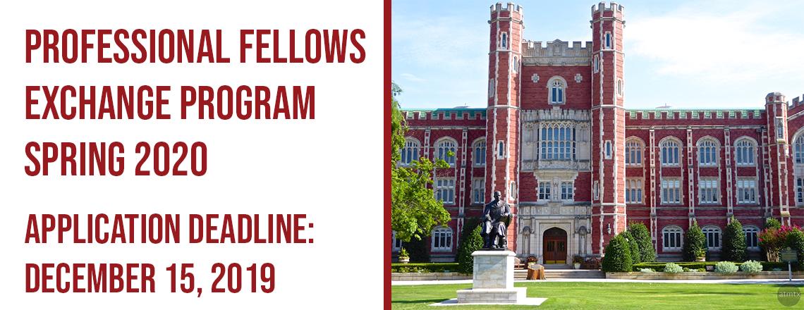 Professional Fellows Exchange Program Spring 2020